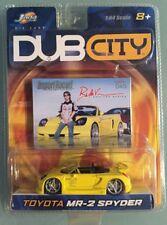 Jada Dub City ImportRacer  045 Toyota MR-2 Spyder bin(91)