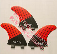 FCS JF-1 SUP fins for surfing with iberglass honey comb carbon(Tri-set)