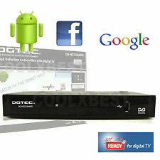 HD DIGITAL TV SET TOP BOX w USB MEDIA PLAYER PVR RECORDER WiFi INTERNET & EMAIL
