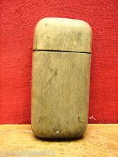 Jolie ancienne boite d'allumettes, pyrogène, en bois