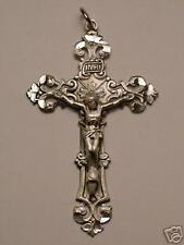 Catholic Sterling Silver Rosary Crucifix