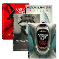 AMERICAN HORROR STORY - STAGIONI 1,2,3,4 (16 DVD) SERIE TV FOX, LINGUA ITALIANA