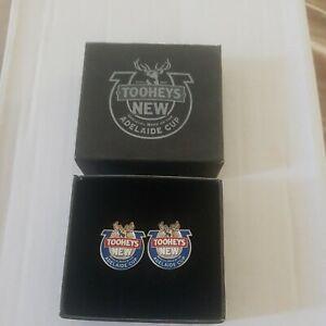 Unused Boxed Pair Of Tooheys New Beer Adelaide Cup Cufflinks