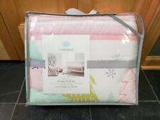Crib Bedding Set Forest Frolic Baby Infant Nursery Decor 4 Piece Quilt Sheet