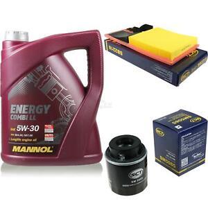 Ölwechsel Set 5L MANNOL Energy Combi LL 5W-30 Motoröl + SCT Filter KIT 10137610