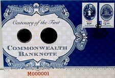 2013  AUSTRALIA 100 YEARS FIRST BANKNOTE PNC ENVELOPE *NO COINS*
