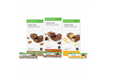 Herbalife Protein Bars x14 - Vanilla Almond, Chocolate Peanut, Citrus Lemon