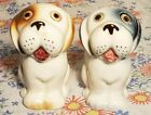 Vintage Salt And Pepper Shakers Dog Puppy Ceramic