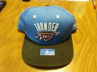 Oklahoma City Thunder OKC NBA Youth Snapback Cap Hat Adidas Blue - Never Worn