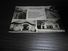 Drahtseilbahn - Erdmannsdorf - Augustusburg - Ansichtskarte - s/w - 1963