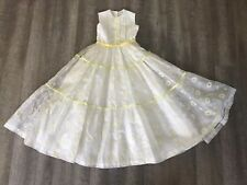 Vintage Flower Girl Dress Wedding Special Occasions Handmade 1960s-70s