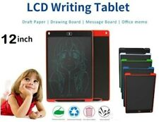 12'' LCD Tablet Drawing Writing Board Children Notepad eWriter Digital Graphic