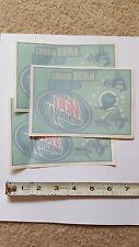 BMX skateboarding Motocross racing Mountain Dew advertizing vinyl sticker