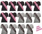 Hen Night Girls Night Out Party Decoration Assorted Deluxe Sash Sashes