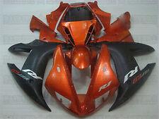 Bodywork Orange Black Injection Fairing Fit for 2002-2003 Yamaha YZF R1 v09