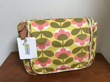 Orla Kiely Hanging Travel Cosmetic Wash Make-up Bag