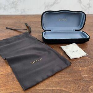 Gucci Black Sunglasses / glasses case Velvet