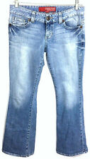 Guess Jeans Womens 29 Daredevil Flare Leg 1981 Light Wash Stretch Actual 30 x 32