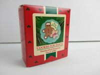 Vintage Hallmark Keepsake Ornament Cookies for Santa Plate 1986