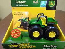 NEW John Deere Monster Treads Gator with Pop-Out V-Plow  (TBEK37750C)