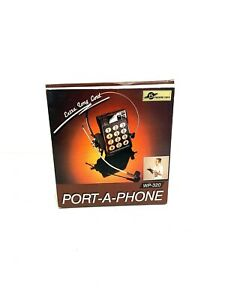 Vintage Future Tech Extra Long Cord Port-A-Phone WP-320