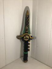 Bandai 1994 Mighty Morphin Power Rangers Original Green Dragon Dagger Working