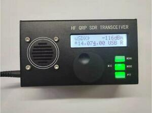 uSDX QCX-SSB HF Transceiver QRP  SSB All Mode 8-Band 5W DSP SDR  + Battery