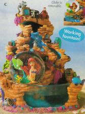 Disney Catalog SNOWGLOBE ** Little Mermaid Ariel Fountain ** 2000