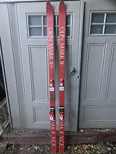 Vintage Olin Mark 2 V.C.E. Skis 200cm 1972 Tyrolia 490 Bindings Rare