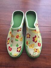 Winnie The Pooh Womens Clog Shoes Rubber Gardening Steel Shank Size 8