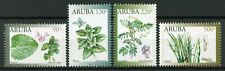 Aruba Flowers Stamps 2019 MNH Medicinal Plants Flora Nature 4v Set