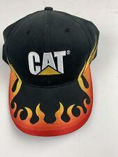 CAT Caterpillar Embroidered Pattern Baseball Cap Hat Adjustable