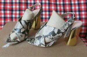 Women's KATE SPADE  Snake Skin High Heel Sandals Size 8