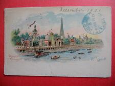 PARIS  :  Expo. Universelle de 1900  -  La Rive Gauche.........VO.1901.