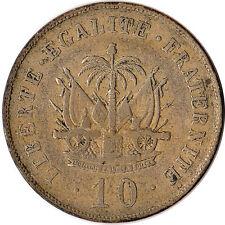1906 Haiti 10 Centimes Coin KM#54