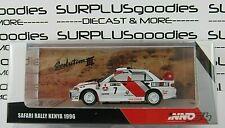 INNO64 1:64 1996 MITSUBISHI LANCER EVOLUTION III EVO3 Safari Rally Kenya #7