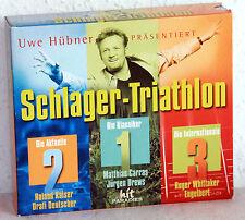 3 CD-Box-uwe Hübner présente: schlager-triathlon