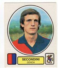 figurina CALCIATORI PANINI 1977/78 NEW numero 102 GENOA SECONDINI