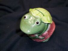 vintage frog bank hand crafted Japan Mary Ann Baker
