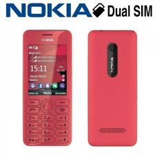 NOKIA 206 DUAL SIM mobile phone NEW (PINK)