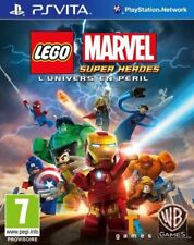 NEUF - jeu LEGO MARVEL SUPER HEROES L'UNIVERS EN PERIL PS Vita en francais NEW