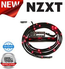 NZXT CB-LED10-RD RED Sleeved LED Kit with PCI Light Sensivity Card 100cm