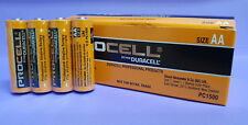 Batteries AA PROCELL by Duracell. Box 24