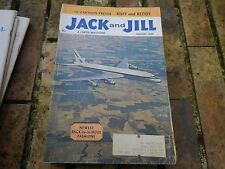 JACK and JILL AUGUST 1960 USA VERY GOOD, TRES BON ETAT, WITHOUT GAME