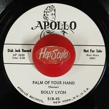 """45 Re ✦ DOLLY LYON ✦""""Palm Of Your Hand / Call Me Darling"""" -Classic Popcorn.Hear♫"""