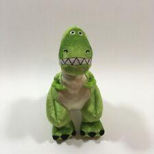 "Disney Pixar Toy Story Rex Plush 8"" Stuffed Animal Toy Dinosaur"