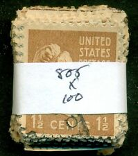 SCOTT # 805 USED, 100 STAMPS, GREAT PRICE!