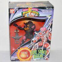 "Bandai Mighty Morphin Power Rangers Rhino Blaster Deluxe Evil Space Alien 7"" NIB"