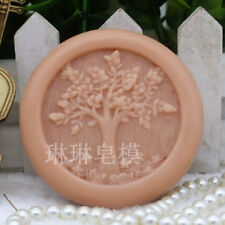 Craft Tree Silicone Soap Molds Round Flexible Handmade Candle Resin Mould