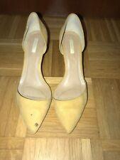 Damen Schuhe Pumps High Heels Absatzschuhe Wildleder Optik Gr.39 ZARA